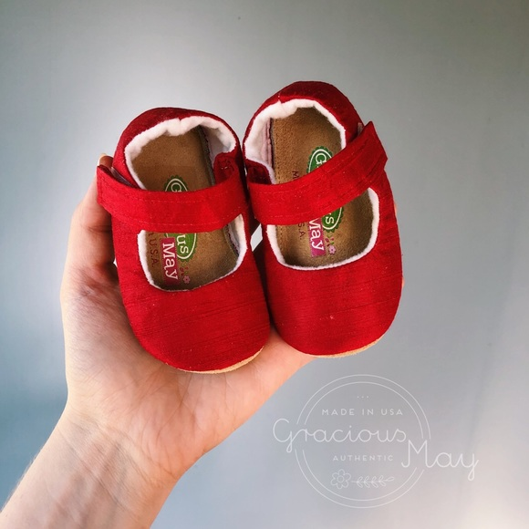 Shoes | Christmas Red Baby Girl Dress